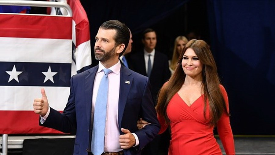 Kimberly namora com Donald Trump Jr.