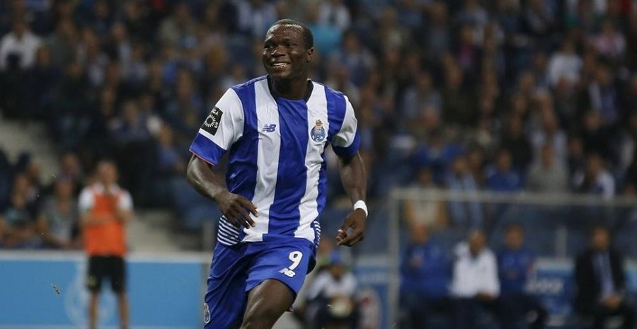 Aboubakar inaugurou o marcador este domingo no Estádio do Dragão