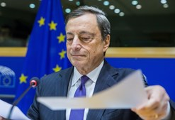 Mário Draghi, presidente do Banco Central Europeu