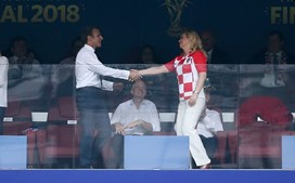 Presidente croata encantou o mundo na final do Mundial 2018